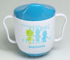 Lerntasse Babytasse Schnabeltasse Tasse BABY NOVA blau