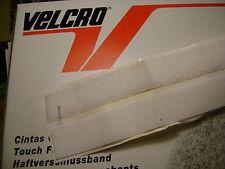 0,50 mètre de bande velcro adhésive blanc largeur 25 mm les deux parties