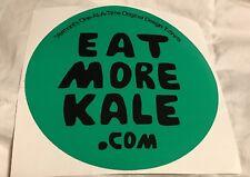 Vermont's Eat More Kale.com Sticker Decal