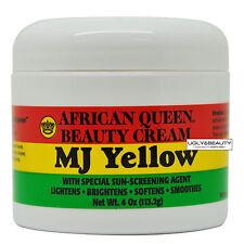 African Queen Beauty Cream MJ Yellow 4 Oz / 113.2 g