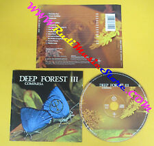 CD DEEP FOREST III Comparsa 1997 Europe SAINT GEORGE  no lp mc dvd (CS7)