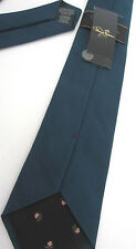 Paul Smith KINGFISHER Tie BRITISH COLLECTION Classic 8cm Blade 58%Silk 42%Cotton