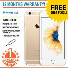 Apple iPhone 6S (Latest Model) 16GB Factory Unlocked - Champagne Gold