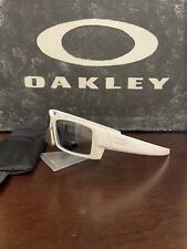 Oakley Gascan S Polished White/Black Polarized Sunglasses 03-558