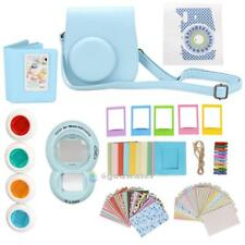 9 in 1 Instant Film Camera Album Bundles Set Kit for Fujifilm Instax Mini 8 Blue