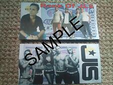 JLS NOVELTY ONE MILLION  EURO BANK NOTE GIFT MILLIONAIRE BANKNOTE