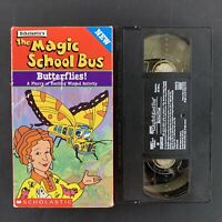 Magic School Bus, The - Butterflies (VHS, 1999) Tested Plays Great!