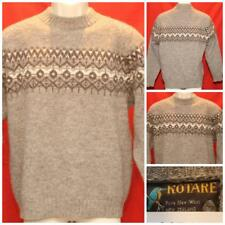 """Vintage Kotare Made in New Zealand Wool Sweater 112cm Lg or XL 24"""" Pit2Pit OCT13"""