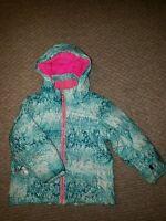 SPYDER Warm INSULATED WINTER JACKET Ski Coat Sz 3T Toddler Baby Girl