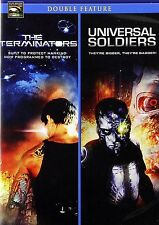 The Terminators/Universal Soldiers (DVD, 2011)