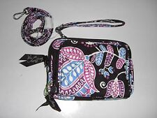 NWT Vera Bradley ~ALPINE FLORAL~ On the Square Crossbody Wristlet Crossbody $58