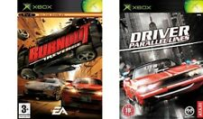 Controlador de líneas paralelas & Burnout Revenge Xbox Formato PAL