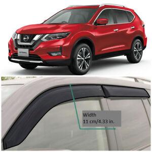 NE15114 Window Visors Vent Wide Deflectors For Nissan X-Trail (T32) 2014-