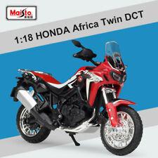 Miniature Maisto Motorcycle Diecast Model HONDA Africa Twin DCT Replica In 1:18