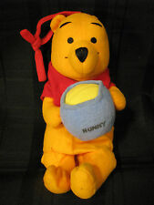 THE FIRST YEARS WINNIE THE POOH STUFFED PLUSH BABY MUSICAL CRIB PULL TOY HUNNY