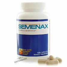SEMENAX 1 Bottle Increase Semen Volume Penis Pills Big Orgasm (NEW 120 CAPSULES)