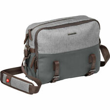 Manfrotto MB LF-WN-RP Windsor Camera Reporter Bag for DSLR (Gray). No Fees!