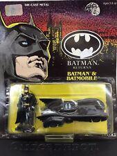 Batman Returns 1/64 Scale Diecast Batmobile & Batman Figure by Ertl  Movie nos