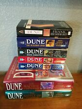Dune Series 7 Book Lot by Frank and Brian Herbert, Kevin J. Anderson