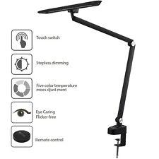 12W OTUS Architect Desk Lamp Clamp with Remote Control