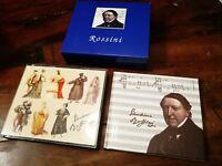 Gioachino Rossini - Raccolta Promozionale AstraZeneca Rarissimo Box Book + 2x Cd
