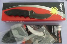 SPYDERCO KNIFE FB29GPSBBK PYGMY WARRIOR FIXED BLADE USA MADE NEW IN BOX