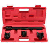 Inner Tie Rod Removal Set | 4pc Mechanics Installation Tool Dual Socket Adapter