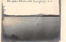Greenfield New Hampshire Otter Lake Real Photo Antique Postcard (J37511)