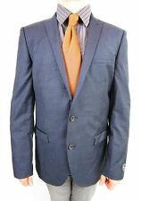 NEXT Men's Formal Super 100s Wool Tailored Tweed Suit Jacket Blazer sz 42 L AS11