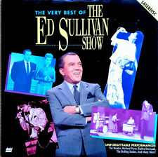 VERY BEST OF THE ED SULLIVAN SHOW- LASER DISC - BEATLES, STONES, ELVIS, SUPREMS