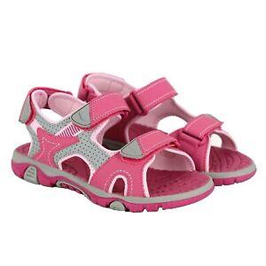Khombu Kids Girls Pink River Sandals with Adjustable Strap