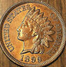 1899 USA INDIAN HEAD SMALL CENT COIN - Fantastic Uncirculated details (cleaned)