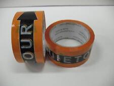 Lot (2) Phat Tape Detour Hockey Shin Guard Orange Black 2 Inch 30 Yard Roll