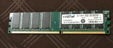 Crucial PC-3200 (DDR-400) 1GB DIMM 400 MHz DDR SDRAM Memory CT12864Z40B.M16TFY