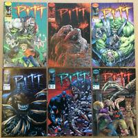 Pitt LOT of 6 Image Comics VF+ #2, #5-9 run 1993-1995 high grade first printing