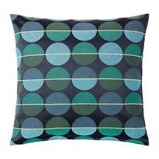 IKEA OTTIL Kissenbezug Kissenhülle blau/grün 50x50cm Kopfkissen Bezug NEU
