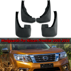 4X Mud Flaps Splash Guards Fender Durable Mudguard For Nissan Frontier 2005-2016