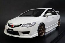 17A01-01 onemodel 1:18 Honda Civic Type-R FD2 Mugen White model cars
