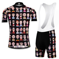 Legends Of Cycling Vintage Cycling Jersey Bib Short KIt