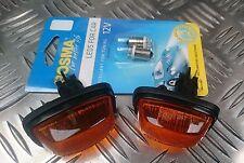Fiat 126-Par De Nuevo Lado Ala Indicadores Repetidores & Bombillas LED