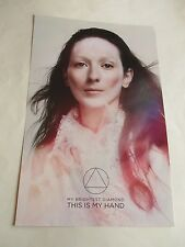 My Brightest Diamond This is My Hand Poster 2015 Limited Promotional 11X17 New