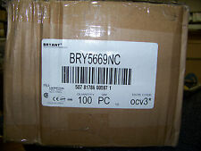 10 Bryant Connector-Nylon 15A 250V NEMA 6-15R 2 Pole 3 Wire Grounding #BRY5669NC