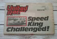 United Racer News - August 22 1988 - Blake Wiggins Shafiroff Hmiel NHRA IHRA