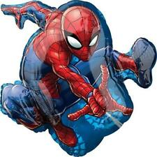 PALLONCINO SUPERSHAPE SPIDERMAN 43 X 73 cm diam in Mylar DISNEY PARTY FESTA