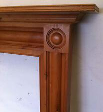 Reclaimed Antique Georgian Style Pine Wooden Fireplace Surround Mantel (PK131)