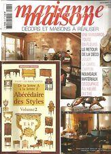 MARIANNE MAISON N°75 MANSARDE TOUTE EN FLEURS / CARTON / DECOUPAGE A L'HEURE THE
