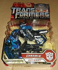 Transformers ROTF CHROMIA Deluxe motorcycle bike Revenge of the Fallen movie USA