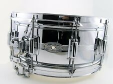 VINTAGE DYNA-SONIC CHROME ON BRASS SHELL SNARE DRUM...... COB! ONE OWNER!!