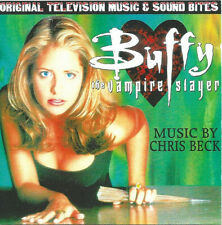 Buffy The Vampire Slayer Original Television Music -  Soundtrack/Score Promo CD