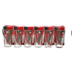 6 x Euro 2020 COCA COLA  Football European Cup Glasses New & boxed. Memorabilia